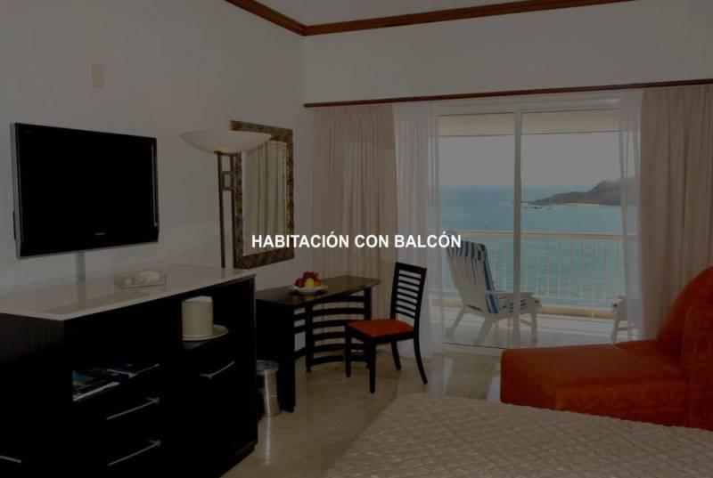 Hotel Azul Ixtapa Cuartos. Hotel Azul Ixtapa Cuartos con Balcón. Hotel Azul Ixtapa Cuartos con Vista al Mar. Hotel Azul Ixtapa Cuartos con Cama King Size. Hotel Azul Ixtapa Cuartos para 2 personas