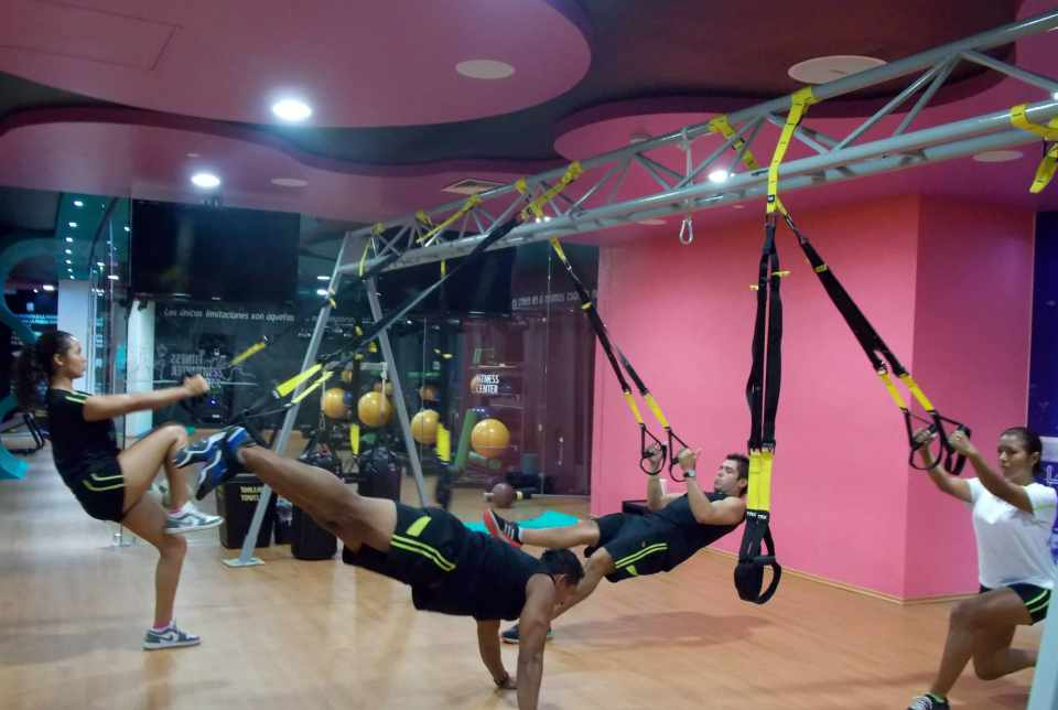 Hotel Azul Ixtapa Grand Gym: TRX Suspension Training, Pesas, Cardio en el gimnasio del Hotel Azul Ixtapa Grand
