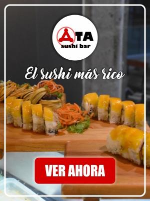 Restaurantes en Ixtapa Zihuatanejo con Servicio a Domicilio, ATA SUSHI BAR. Mejor restaurante de sushi en Ixtapa Zihuatanejo. Dónde Comer en Ixtapa Zihuatanejo. Restaurantes de Comida Japonesa en Ixtapa Zihuatanejo