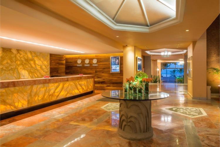 Recepción del Hotel Barceló Ixtapa