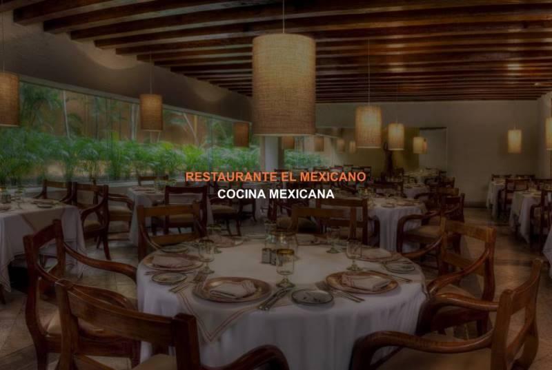 Restaurante El Mexicano del Hotel Brisas Ixtapa: Disfrute de la auténtica cocina mexicana en un ambiente que asemeja las haciendas coloniales del siglo XVI en México