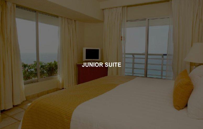 Hotel Emporio Ixtapa Habitación Junior Suite para disfrutar de las mejores vacaciones en Ixtapa Zihuatanejo