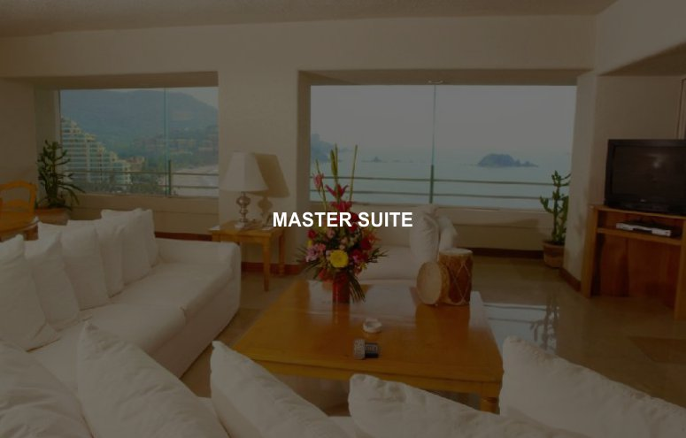 Hotel Emporio Ixtapa Habitaciones Máster Suite, vista al mar, acceso inmediato a la playa en Ixtapa Zihuatanejo