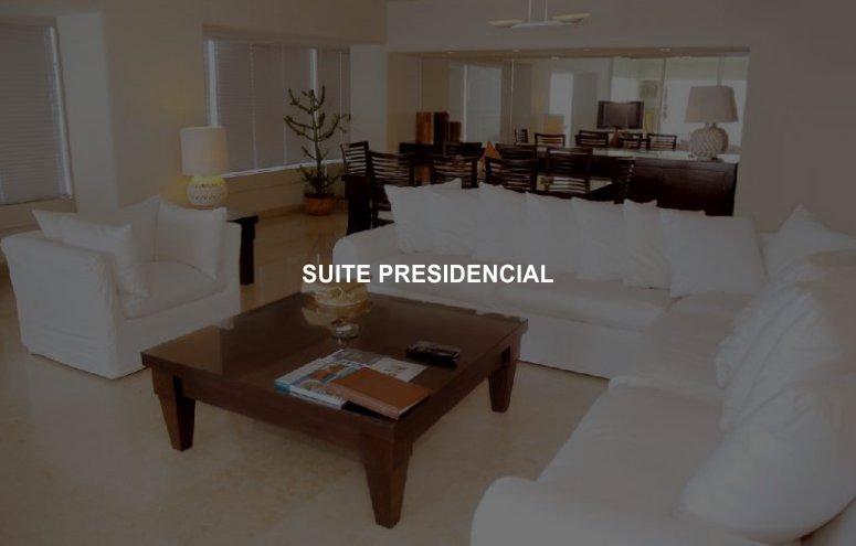 Hotel Emporio Ixtapa Habitaciones, Suite Presidencial, Porque sabemos que te gusta consentirte en tus vacaciones en Ixtapa Zihuatanejo, podrás disfrutar de la suite presidencial con dos recámaras, sala y comedor