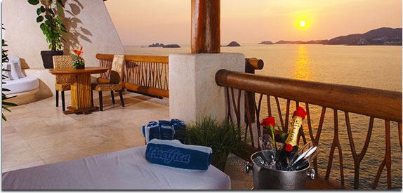 Hotel Pacífica Ixtapa. Las suites Pacífica Spa son ideales para esas vacaciones familiares en Ixtapa Zihuatanejo
