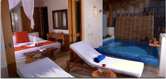 Hotel Pacífica Ixtapa. Las suites Pacífica Club le brindan gran practicidad y confort para vivir las mejores vacaciones familiares en Ixtapa Zihuatanejo