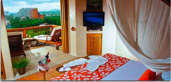 Hotel Pacífica Ixtapa. Suites para NO Socios y Suites para Socios. Paquetes todo incluido del Hotel Pacífica Ixtapa