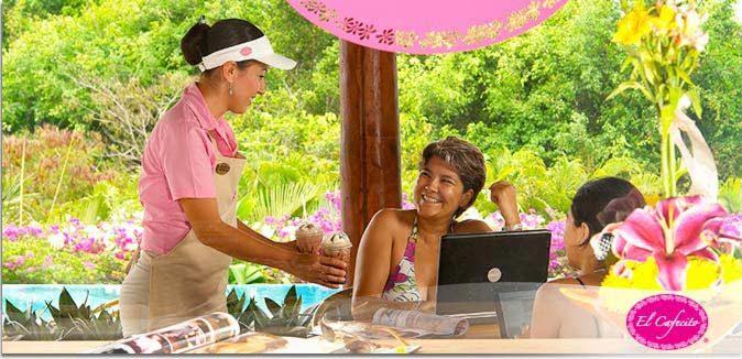 Hotel Pacífica Ixtapa Restaurante El Cafecito. hemos inaugurado este encantador espacio donde podrás disfrutar de café, té, comida gourmet y los deliciosos postres de la casa. El Cafecito también cuenta con una terraza y mini alberca para que disfrutes el sol de Ixtapa mientras saboreas tu café