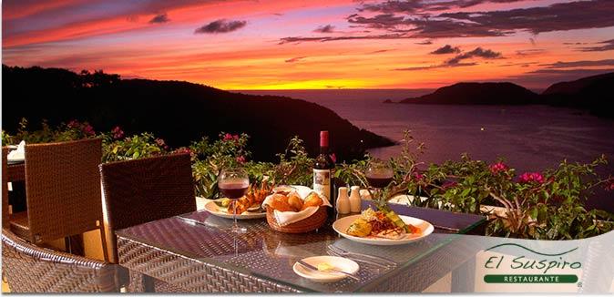 Hotel Pacífica Ixtapa Restaurante El Suspiro. La mejor comida internacional y una maravillosa arquitectura para una experiencia íntima y lujosa en sus vacaciones en Ixtapa Zihuatanejo