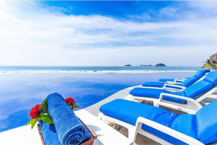 Hotel Posada Real Ixtapa Todo Incluido: Piscinas y albercas exteriores, actividades acuáticas, actividades y entretenimiento familiar, acceso inmediato a Playa El Palmar Ixtapa Zihuatanejo