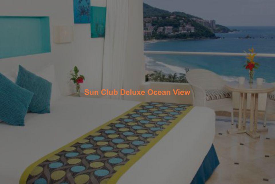 Hotel Sunscape Ixtapa Habitación Sun Club Deluxe Ocean View: Una cama King-size o dos camas dobles, Impresionante vista al mar desde su balcón privado