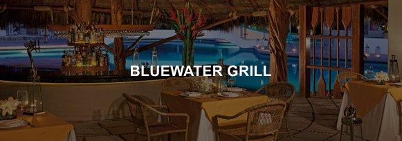 Hotel Sunscape Ixtapa Restaurante BLUEWATER GRILL, Cocina regional e internacional con vista a la alberca