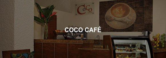 Hotel Sunscape Ixtapa Restaurante COCO CAFÉ, Cafés, tés, pasteles y bocadillos gourmets