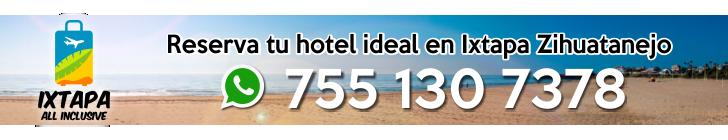Reserva tu hotel ideal en Ixtapa Zihuatanejo. Nuestra agencia de viajes ofrece los mejores paquetes, ofertas y promociones en hoteles todo incluido en Ixtapa Zihuatanejo. ¡Tus vacaciones en Ixtapa Zihuatanejo empiezan aquí!